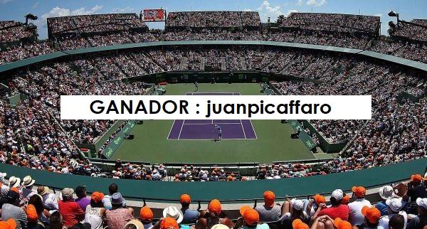 prode miami ganador legion argentina tenis