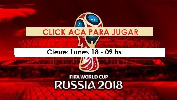 prode copa del mundo rusia 2018