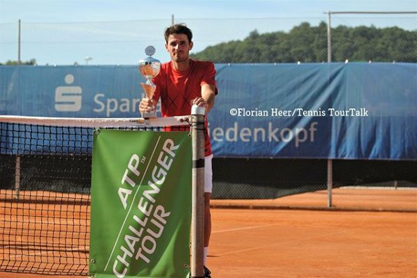 Juan Londero campeon challenger MARBURG 2018