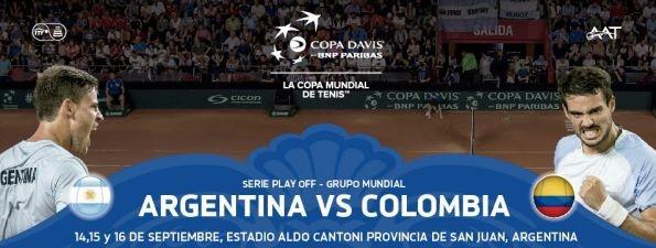 copa davis anuncio argentina colombia