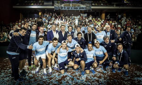 argentina copa davis victoria colombia grupo mundial