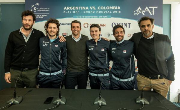 copa davis argentina colombia 2018