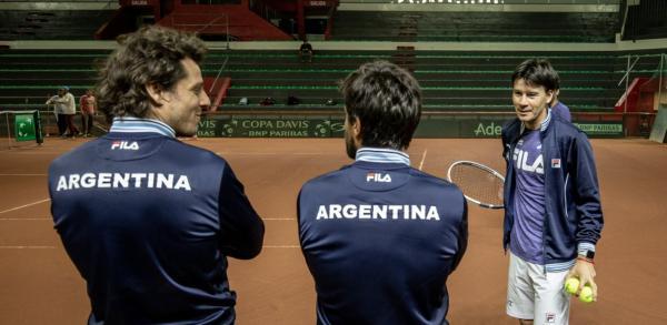equipo completo copa davis argentina gaudio