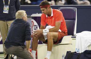 del potro fractura rotula rodilla derecha