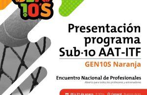 Programa Sub 10 - AAT, ITF y COA