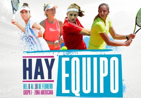 fed cup versus colombia 2019