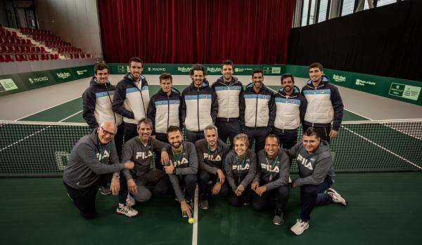 copa davis 2019 equipo argentino en madrid
