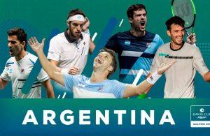 copa davis argentina colombia 2020