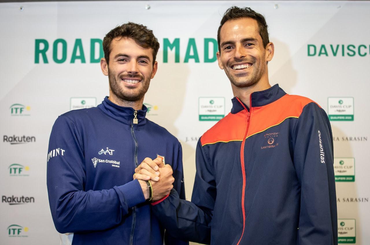 Juani Londero en el sorteo de Copa Davis, enfrentara al colombiano Giraldo