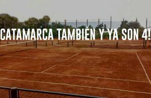 Catamarca retoma el tenis