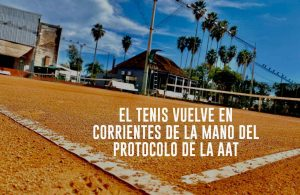 El tenis vuelve en la provincia de Corrientes