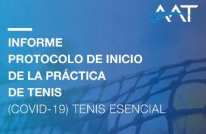 Protocolo de Inicio de la Práctica de Tenis