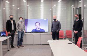Positiva reunión con Rodríguez Larreta y Santilli