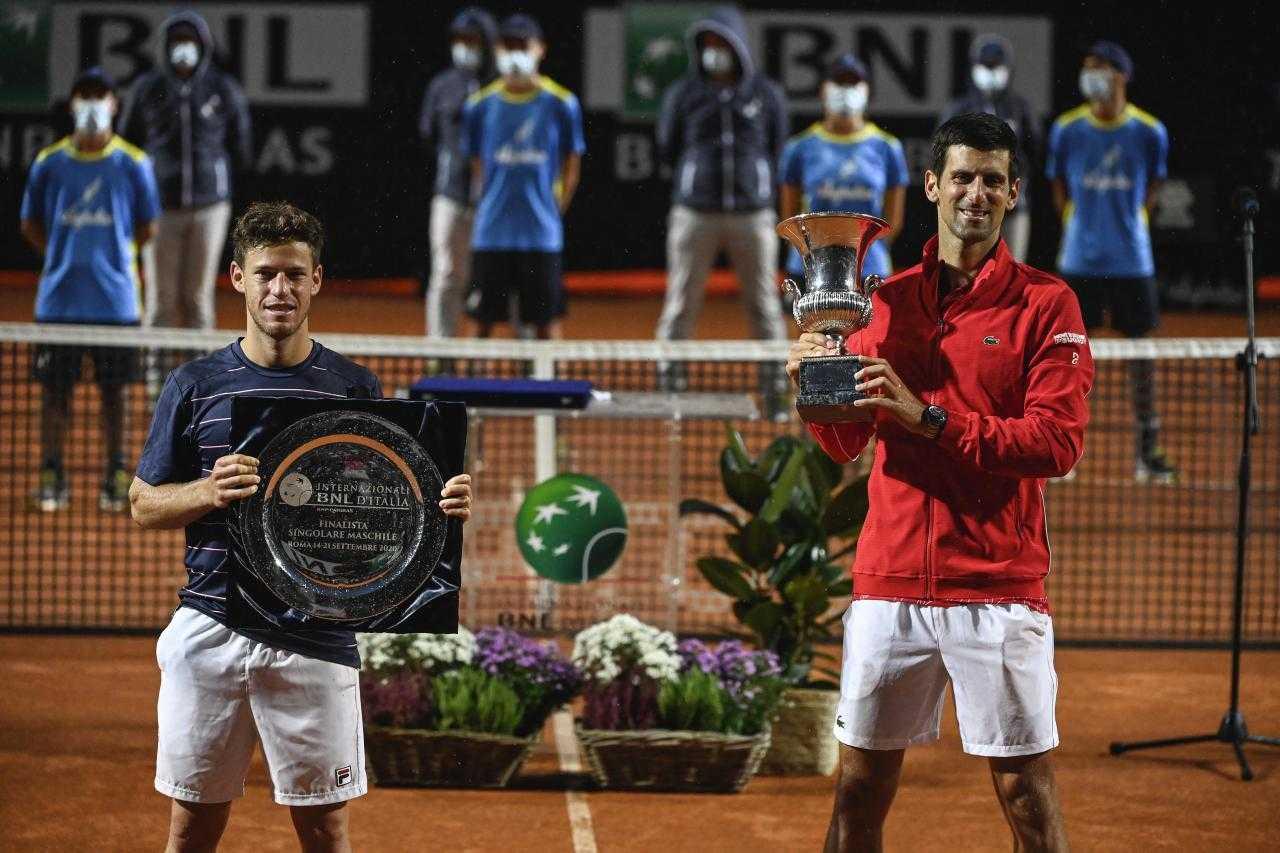 Djokovic supera a Nadal en títulos Masters