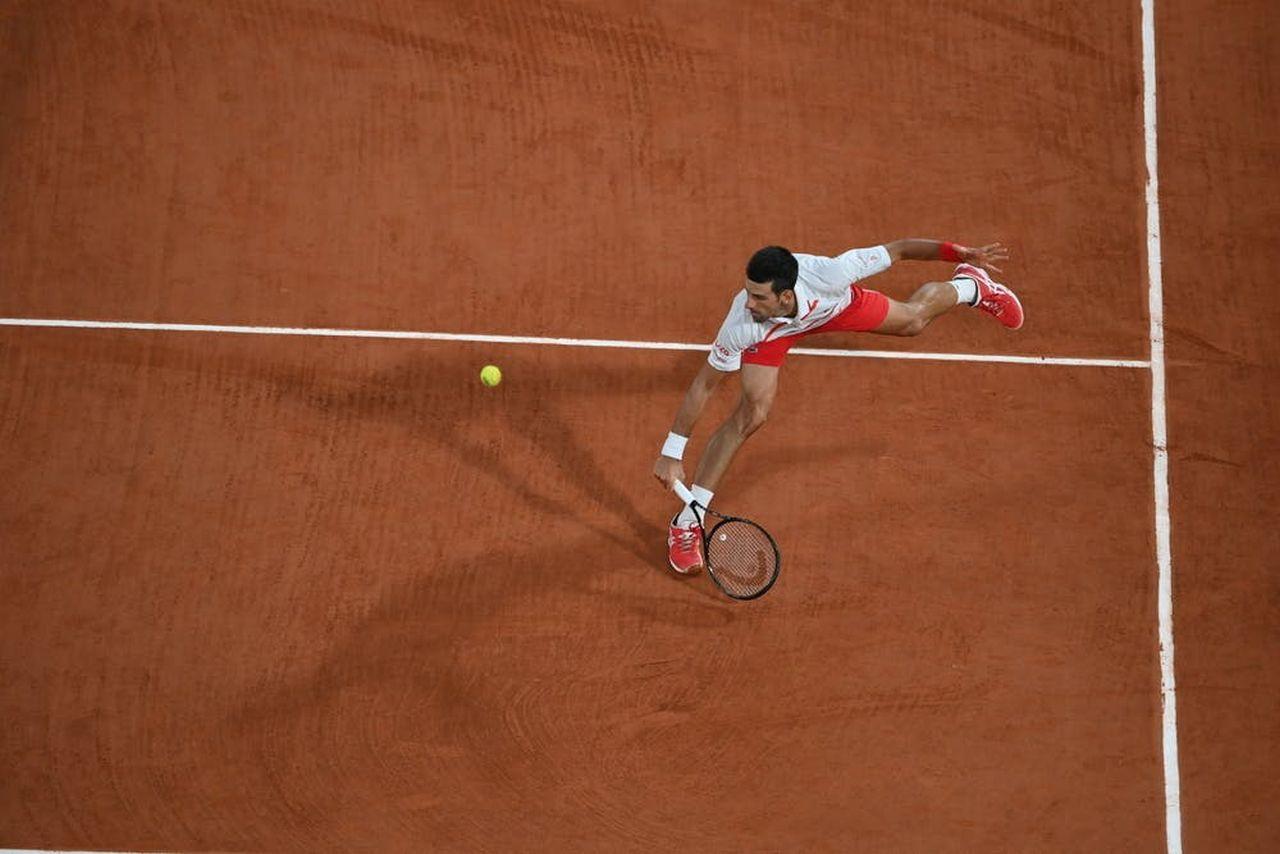 Drop Shot en Roland Garros 2020