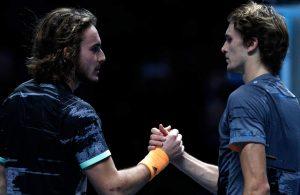 Tsitsipas y Zverev al ATP Finals