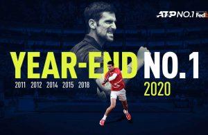 Djokovic finaliza el 2020 número 1
