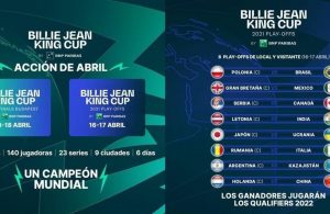 Billie Jean King Cup en abril