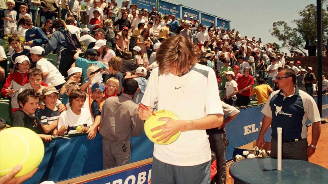 Del Potro gana su primer Challenger montevideo 2005