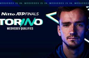 Medvedev y Tsitsipas clasifican al ATP Finals