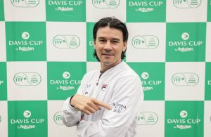 Coria capitán de Copa Davis